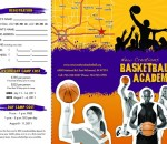 Summer Basketball Camp Brochure