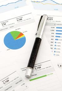 website analytics charts