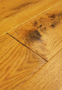 Rehmeyer Legacy Collection: White Oak hardwood flooring with soft edges