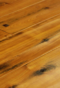 Rehmeyer Legacy Red Birch Foot Worn Flooring with Pegs