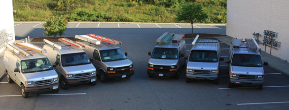 damico electric contractor trucks westchester ny
